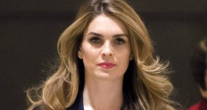 Hope Hicks lies